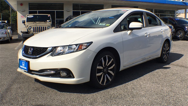 Certified Pre Owned 2015 Honda Civic EX L