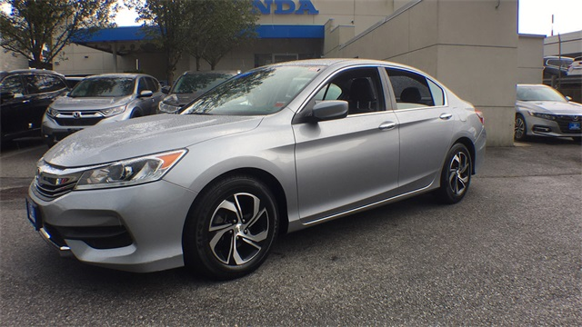 Honda Accord Official Site >> Certified Pre Owned 2017 Honda Accord Lx 2 4t