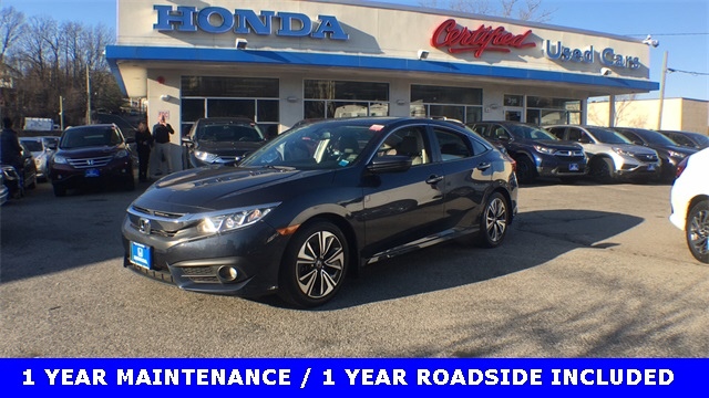 Certified Pre-Owned 2017 Honda Civic EX-L